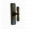 Maniglia martellina in ferro per finestre 09029