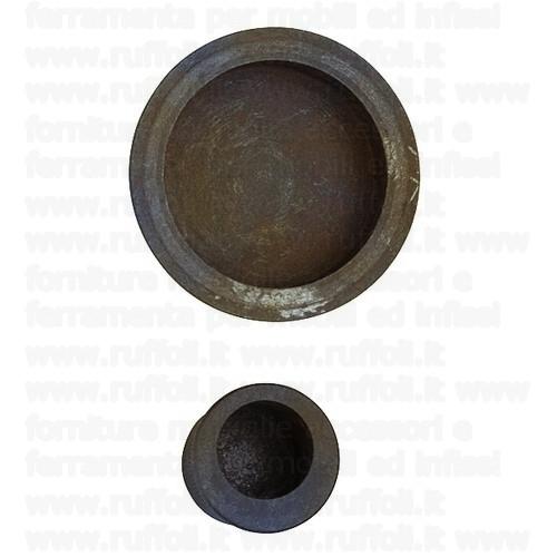 Maniglia porte scorrevoli - Ferro anticato 09075