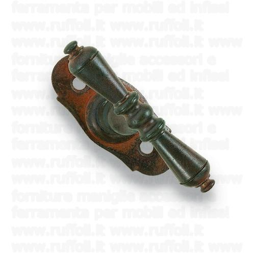 Maniglia martellina per finestre - Ferro anticato MG4987