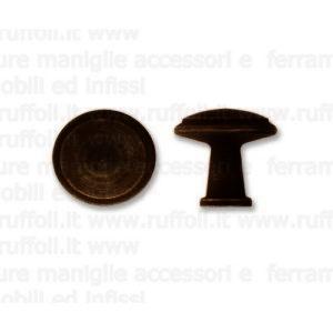 Pomolo per mobili antichi - Ferro anticato MG5809