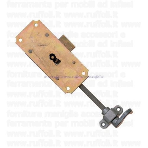 Serratura per mobili antichi MG9507 25mm