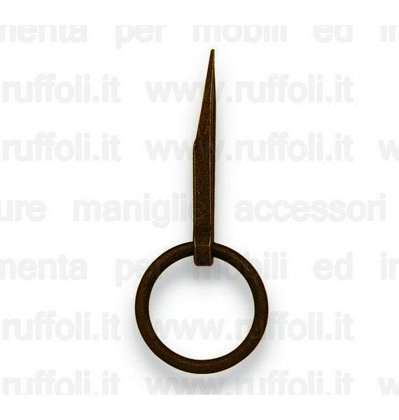 maniglia in ferro ad anello 2609-13