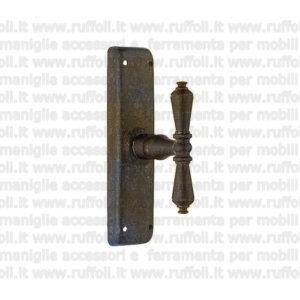 maniglia martellina per finestre - ferro battuto anticato 09071