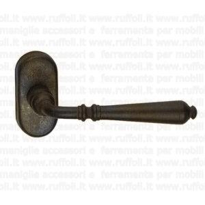 maniglia per finestre anta ribalta - ferro battuto anticato 09073
