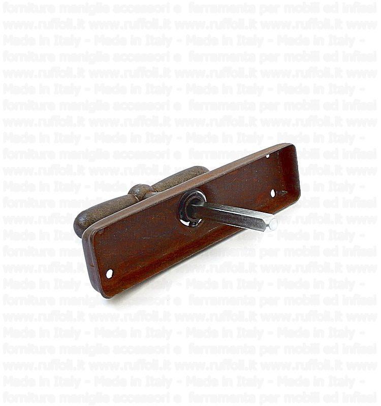 Maniglia martellina per finestre - Ferro 09029