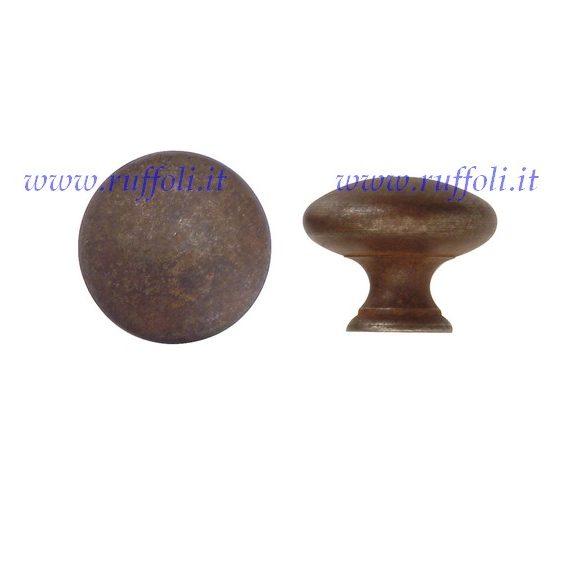 Pomolo per mobili - Ferro anticato 30425/40