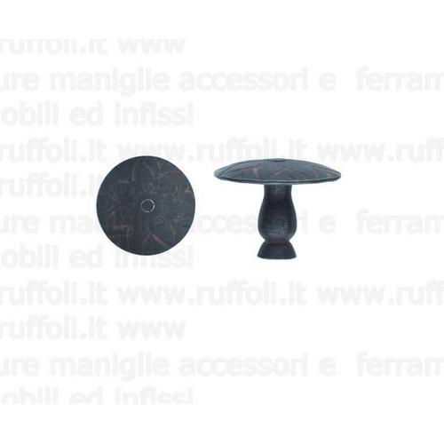Pomolo per mobili - Ferro anticato 50125/35