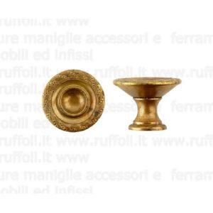 Pomolo per mobili antichi - Ottone anticato 6668/82
