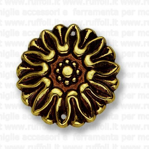 Fregio per mobili antichi - Ottone anticato 11112/32