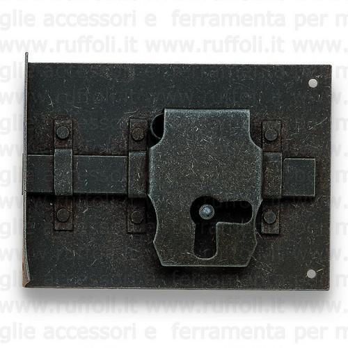 Serratura per mobili antichi 9357/11