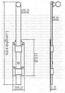 Paletto 11495 - 99
