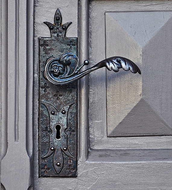 Maniglie rustiche per porte