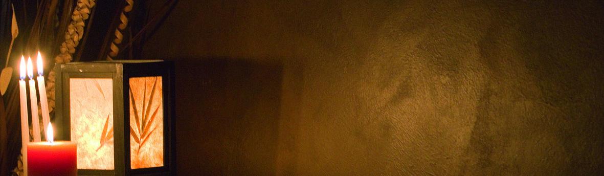 Pitture decorative per interni - parete dorata