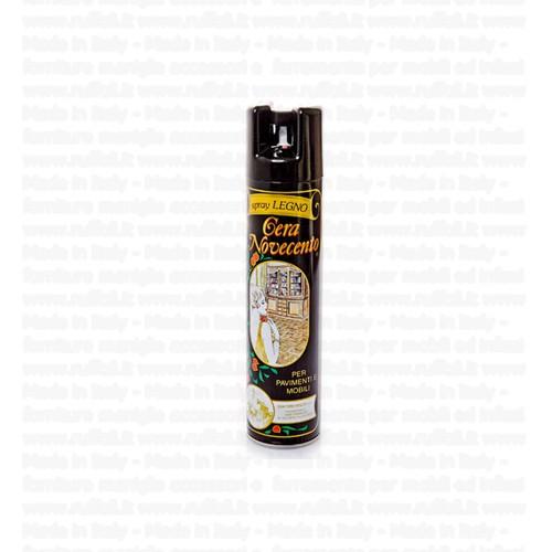 Cera per legno novecento spray 400 ml ruffoli - Cera per mobili legno ...