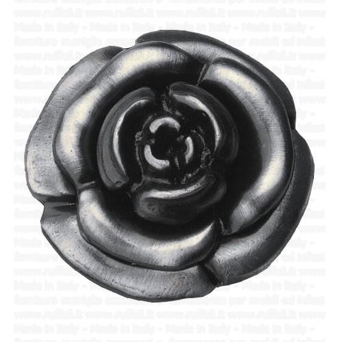 pomolo per mobili-rosa argento vecchio