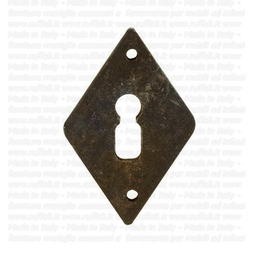 Bocchetta a rombo per porte – Ferro Forgiato - patent