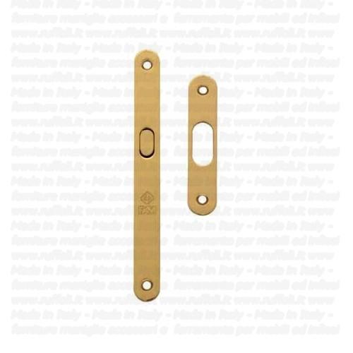 Kit porte scorrevoli - ottone - pam 154