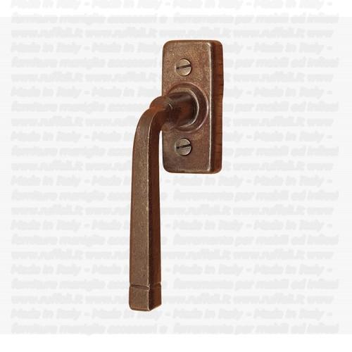 Maniglia per finestre - dreh Kipp - ferro forgiato - fm046