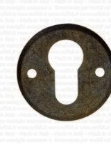 bocchetta per porte - ferro battuto