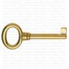 Chiave per mobili antichi - Ottone Bes 4400