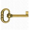 Chiave per mobili antichi – Ottone Lucido Bes 4401