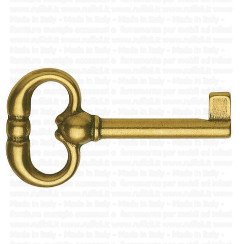 Chiave per mobili antichi ottone lucido bes 4401 ruffoli - Olio per mobili antichi ...