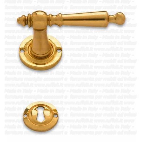 maniglia da porta in stile - Ottone - Pam 563