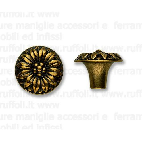 Pomolo per mobili antichi - oro valenza mg6584